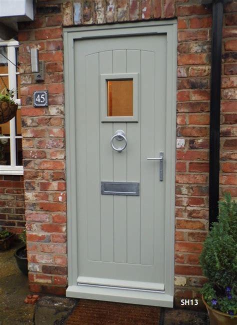 cottage front doors oak door external swept