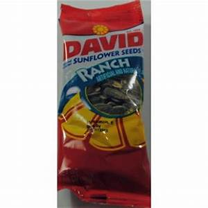 David Sunflower Seeds in Shell Ranch 1.62 oz F30-3346812 ...