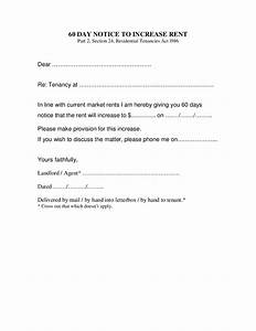2018 rent increase letter fillable printable pdf With free rent increase form letter
