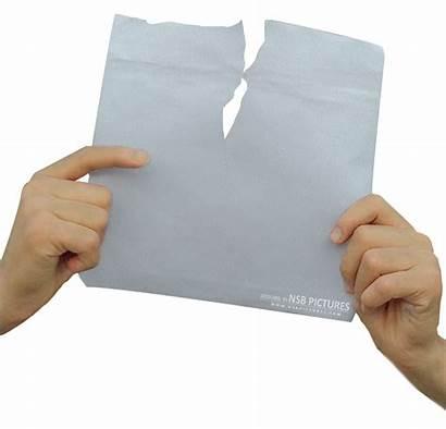 Hand Paper Torn Transparent Vector