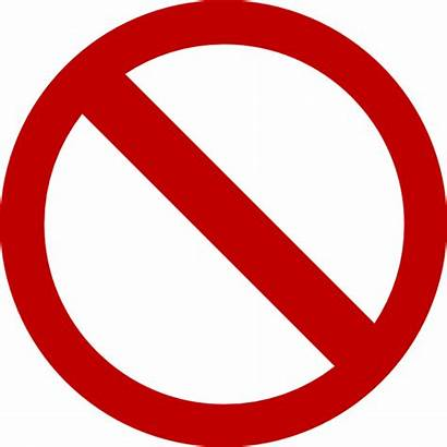 Dont Sign Clip Don Clipart Vector Ts