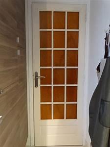 Moderniser Une Porte Intérieure Vitrée : relooker une porte int rieure nathou kikou mais pas seulement ~ Melissatoandfro.com Idées de Décoration