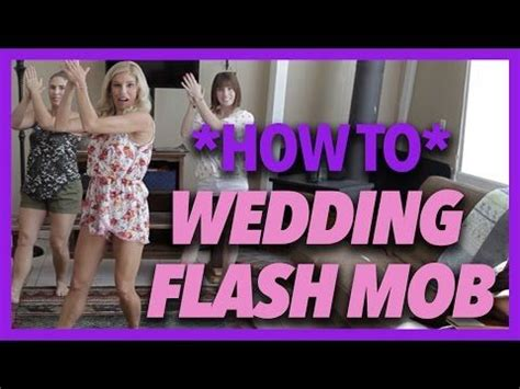wedding flash mob breakdown keshas timber