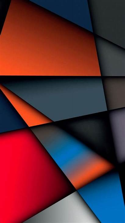 Abstract Iphone Wallpapers Multicolor Screen Geometry Background