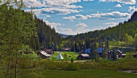 springs dunton colorado amazing usa america spring mountain summer during resorts resort states there