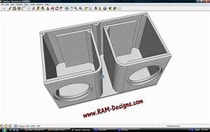 "RAM Designs: Alpine Type-R Dual 12"" Ported Sub Box Design ..."