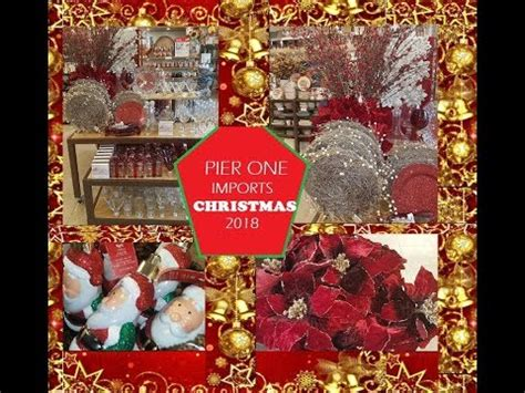 pier  imports  christmas decorations  youtube