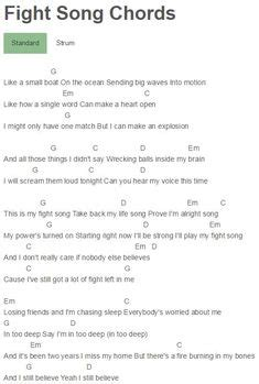 Small Boat Song Lyrics by 1000 Ideas About Fight Song Chords On Ukulele