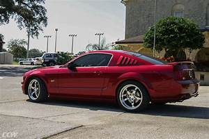 Red Ford Mustang GT - CCW SP500 Forged Wheels - CCW Wheels