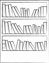 HD Wallpapers Coloring Page Of Bookshelf