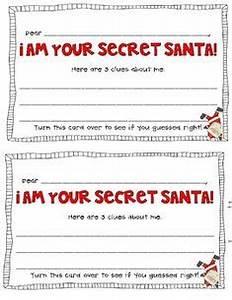 secret santa questionnaire christmas pinterest With secret santa email template