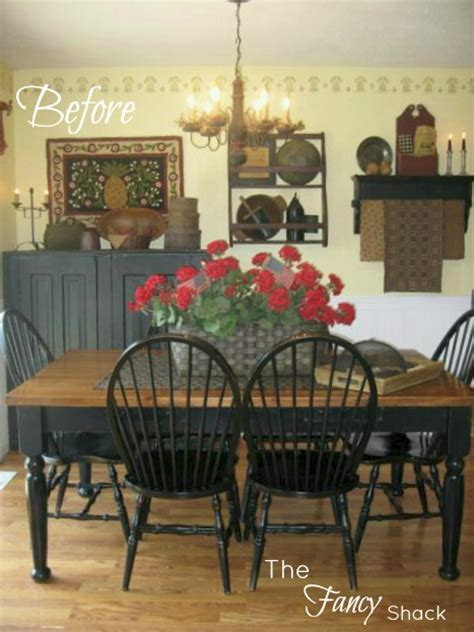 the fancy shack dining room reveal