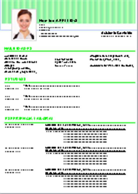 Formato De Resumen Curricular Para Rellenar by Plantillas De Curriculum Para Descargar Gratis En Word