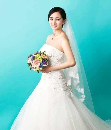 杨幂甜美婚纱,高清图片,明星-回车图片