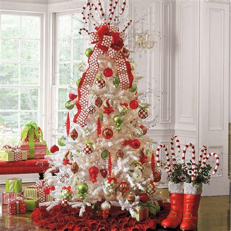 decoration sapin de noel et blanc d 233 corations de no 235 l 224 l am 233 ricaine 57 id 233 es en et vert