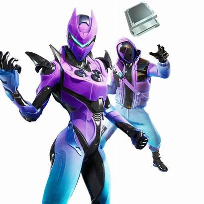 Zone Wars Bundle Fortnite Galaxy Featured Outfit
