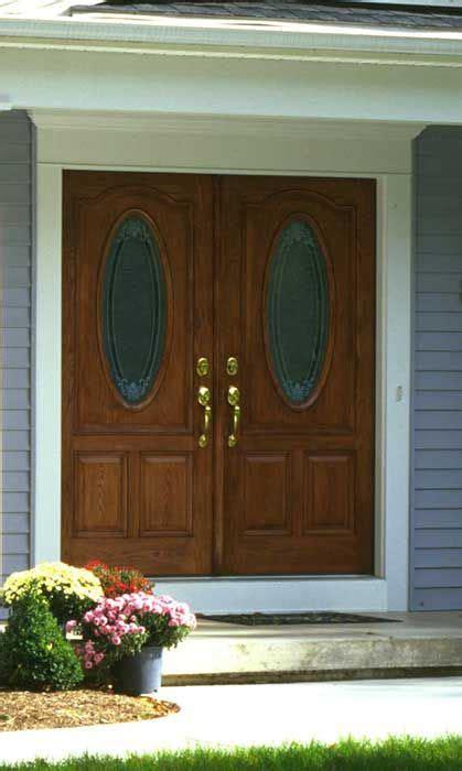fiberglass doors compared to wood replace door entry