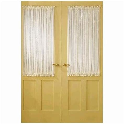 sheer curtains for door windows house