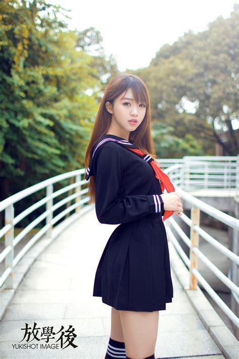 hot sexy japanese japan school girl uniform cosplay