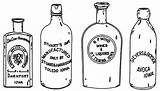Bottle Clipart Medicine Drawing Outline Spirit Beer Bottles Drawings Whisky Milk Easy Fashioned Sketches Antique Southside Colin Omalley Inspiration Invitation sketch template