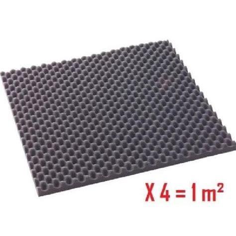 isolant phonique acoustique 4 plaques 1 m2 achat