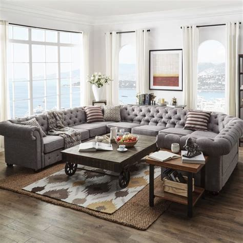 chic sectional sofas  incorporate  interior