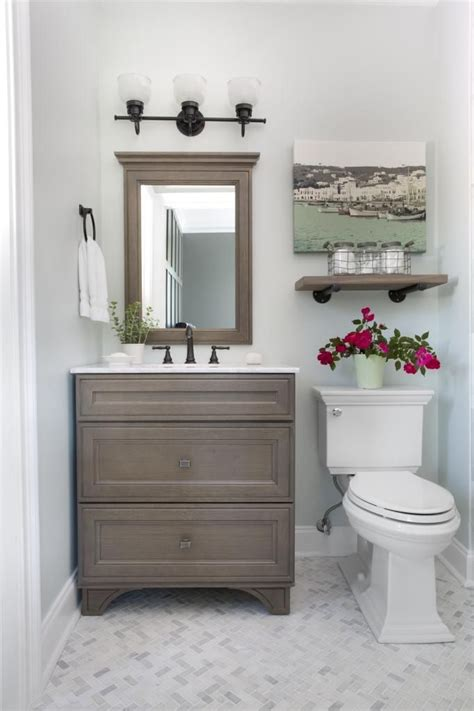 Small Guest Bathroom Ideas guest bathroom reveal small guest bathrooms marble