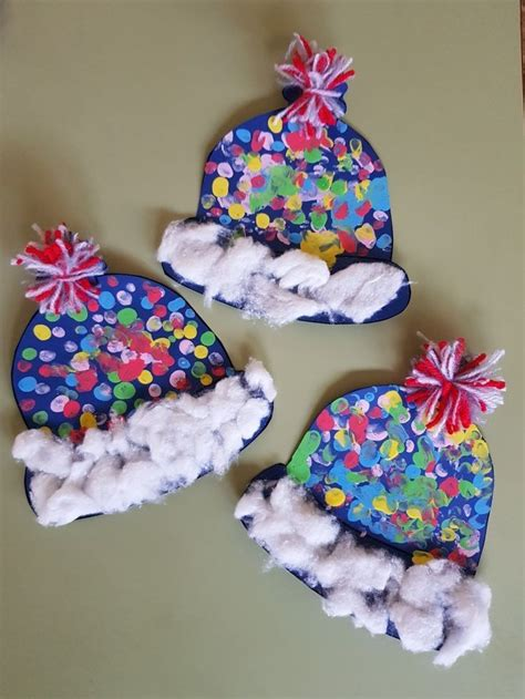 winter hat craft  kids image   images