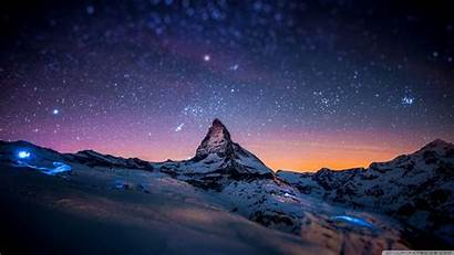 Night Wallpapers Nature Desktop Mountain Background Definition