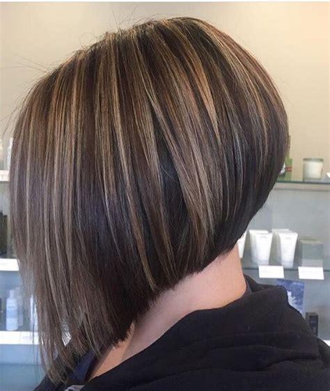 highlighted angled bob hair color ideas hair