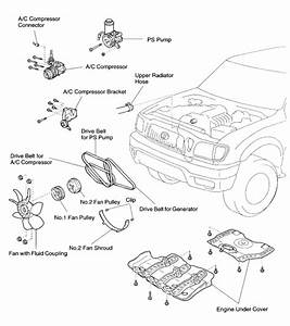 I Am Changing The Three Belts On A 2003 Tacoma  Do You Have A Drawing On How They Go Back On  Help