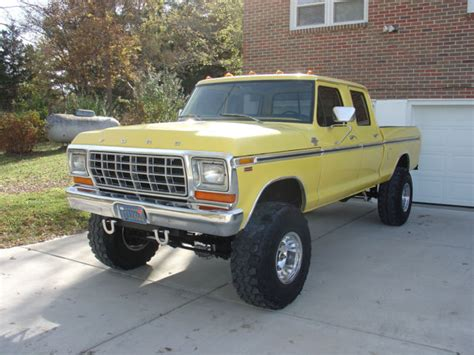 1979 f250 crewcab 4x4 classic ford f 250 1979 for sale