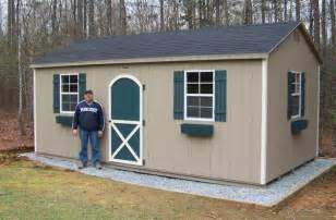 Heartland Stratford Storage Shed by Gravel Foundation Recommended For The Storage Sheds