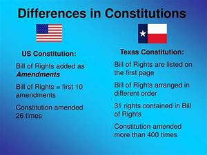 Ppt - The Texas Constitution Powerpoint Presentation