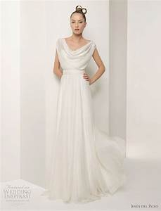 jesus del pozo wedding dress 2011 collection wedding With gauze wedding dress