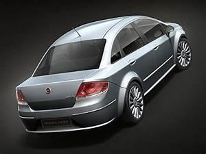 Fiat Linea 2009 3d Model  Max  3ds