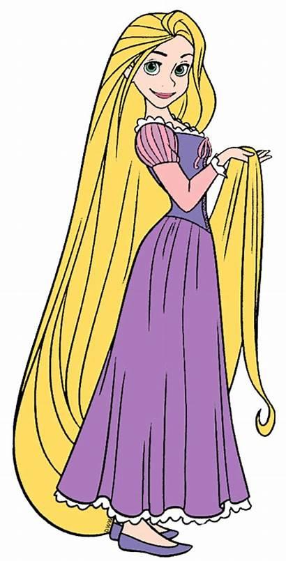 Rapunzel Tangled Clip Disney Disneyclips Princess Colored