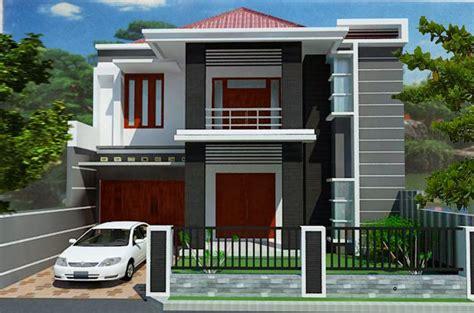 minimalist house design level  desain rumah minimalis