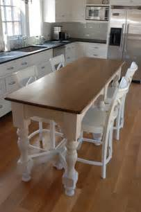 kitchen island farm table island bench kitchen table afreakatheart