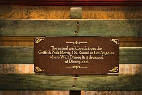 Walt Disney Bench by 2 Or 3 Lines And So Much More Hollies Quot On A Carousel