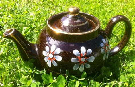 Vintage Brown Betty Teapot -lb Made In England