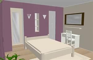 Dressing Derrière Tete De Lit : couleurs chambre ~ Premium-room.com Idées de Décoration