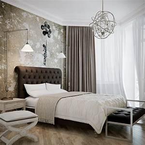 Brown, Beige, Bedroom, Design