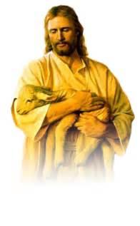 Transparent Jesus Christ