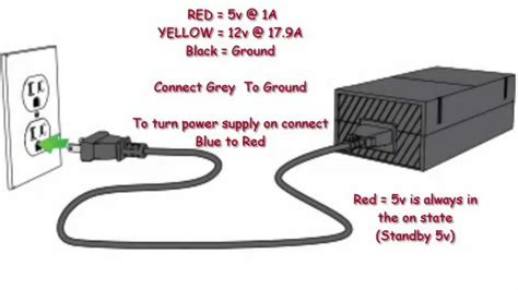 Pac Adapter Wiring Diagram by Xbox 360 Power Supply Wiring Diagram Electrical Website