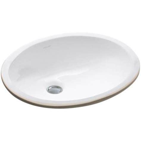 Kohler Caxton Sink 2209 by Kohler Caxton Vitreous China Undermount Bathroom Sink In