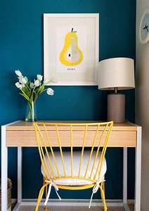Couleur Bleu Canard Deco : chambre bleu canard avec quelle couleur accords classe et id es d co ~ Melissatoandfro.com Idées de Décoration