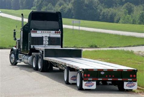 used step deck rs designing testing tires for drop deck trailers