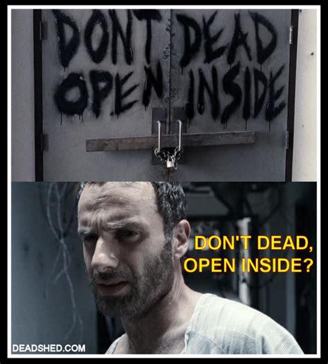 Walking Dead Meme Season 1 - image the walking dead season 1 meme rick hospital sign deadshed jpg walking dead wiki