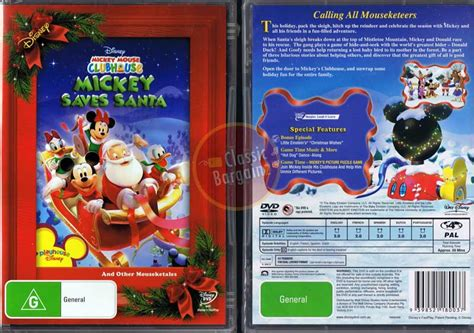 Mickey Mouse Clubhouse =mickey Saves Santa And Other